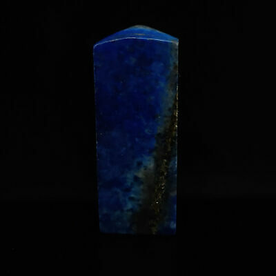 Chinese antique Collection Handmade lapis lazuli lion seal model statue   S775