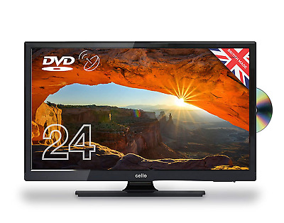 Cello C24230FT2 12 Volt LED TV/DVD Made In The UK 24 inch