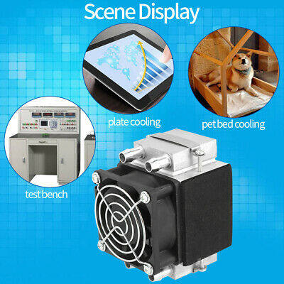 12V 240W Semiconductor Fridge/Refrigeration Cooling System Mini Air Conditioner