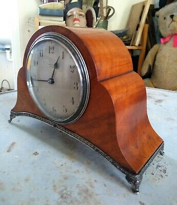 Elegant 1920/30's Art Deco Mantle Clock By Whytock Of Dundee ~ Made in France