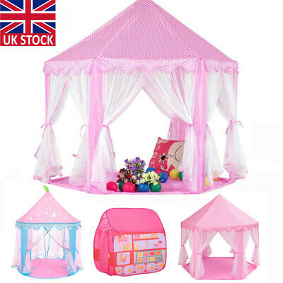 3 Style Children Kids Baby Pop Up Play Tent Fairy Girls Boys Playhouse Outdoor F