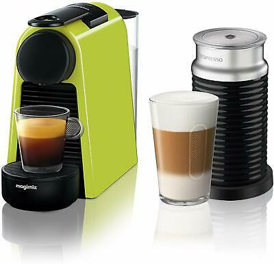 NESPRESSO by Magimix Essenza Mini Coffee Machine with Aeroccino - Green - 0035