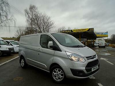 2014 Ford Transit Custom 2.2 TDCi 125ps SWB Low Roof Limited Van NO VAT PANEL