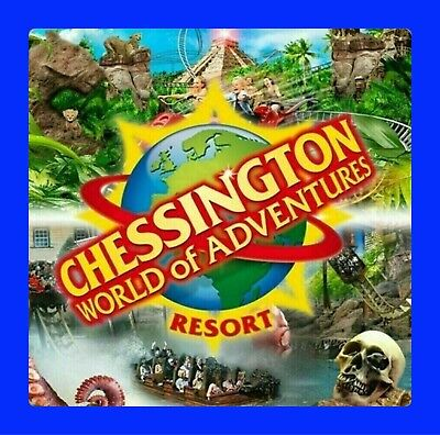 6 Chessington World Of Adventures Tickets Wednesday 15th July RRP £312 15/7/2020