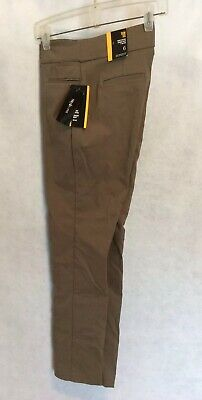 NWT Style & Co Slim Leg Tummy Control Comfort Waist Mid Rise Pants Taupe Size 6