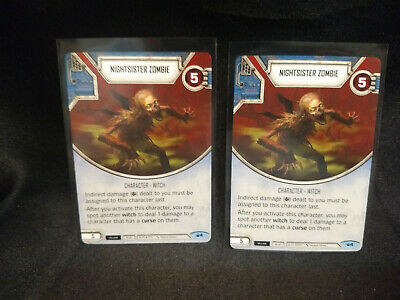 Star Wars Destiny Spark of Hope ~ Nightsister Zombie #4 Common