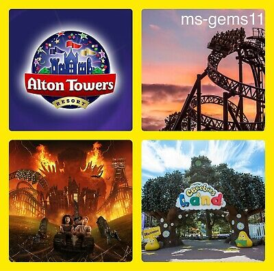 6 Alton Towers Tickets - Pick Your Own Date Online 3Rd April-1St November 2020