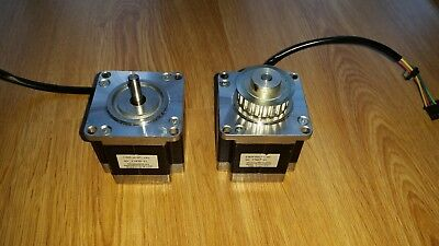2 Minebea 23KM-K047-19W Stepper Motors