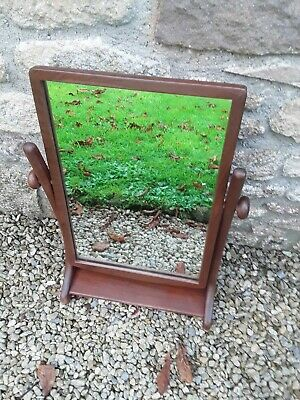 Vintage / Retro Teak Free Standing Adjustable Mirror - Mid Century Danish