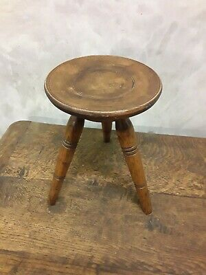Antique / Vintage Welsh Milking Stool