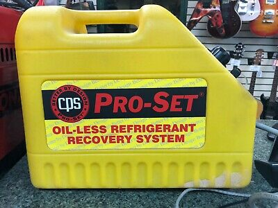 CPS CR500 Pro-Set Refrigerant Recovery System