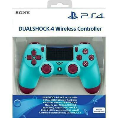 Sony Official DualShock 4 Controller (Berry Blue) (PS4) Brand New Free UK P&P