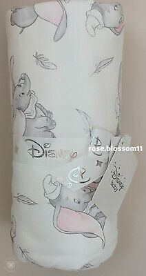 Disney Baby Girls Boys Unisex Dumbo Fleece Blanket Adorable Newborn Gift NEW