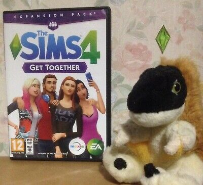 THE SIMS 4 GET TOGETHER PC DVD ROM expansion pack includes EA origin serial code