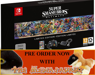 SUPER SMASH BROS ULTIMATE Collectors Limited Edition on NINTENDO SWITCH Gamecube