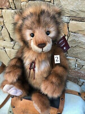 Charlie Bears Wilfy 2 Plush 2020 New Release Collectable Teddy Bear