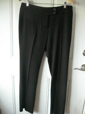"2794- Apt 9 Modern Fit Dress Slacks -Size 8- BlackColor-30"" Inseam"