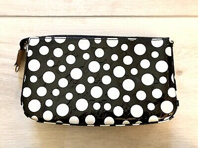 Limited Edition Louis Vuitton Yayoi Kusama Infinity Black Dots Vernis Pochette