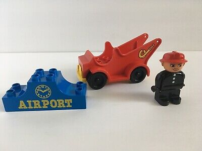 LEGO DUPLO FIRE FLAME YELLOW Blaze Replacement Piece from Batmobile for FIREMAN