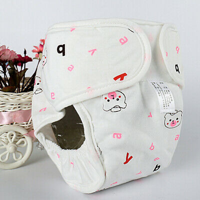 Toddler Baby Kids Boys Girls animal print casual lovely Washable Cloth Diaper