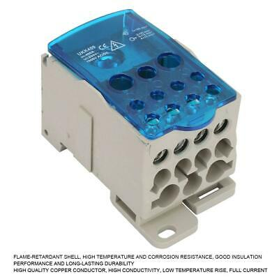 UKK-400A DIN Rail Distribution Junction Box Wire Terminal Block Connector
