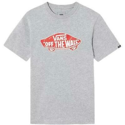 Vans OTW Fill Youth Tee Grey Heather / Athletic Red