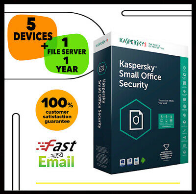 Kaspersky Small Office Security 7 2020 - 5 Device + 1 File Sever | 1 Year GLOBAL