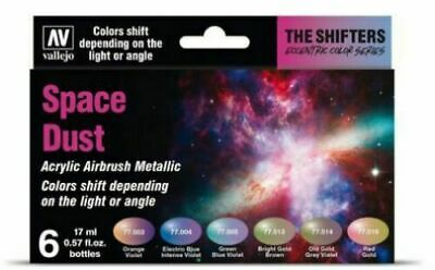 Vallejo Airbrush Model Air The Shifters Set - Space Dust (6x 17ml)