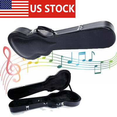 US High Grade Electric Guitar Box Hard Collect Case for Strat Les Paul Case Box