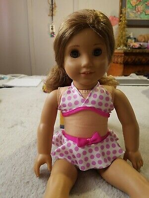 American Girl Doll Rebecca's! Retired  She Comes With A Bathing Suit And A Dress