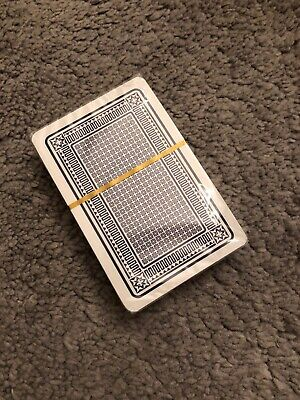 A New Pack Of Plastic Coated Playing-Cards Poker Gambling Gaming Snap Deck Kings
