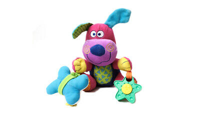 Jolly Jumper Dog and Bone Baby Musical Pull Toy