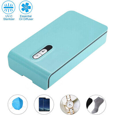 UV Cell Phone Sanitizer and Dual Universal Cell Phone Charger Kills Germs
