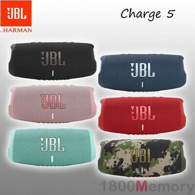 GENUINE JBL Charge 4 Wireless Bluetooth Portable Waterproof Speaker IPX7 USB-C