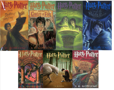 Harry Potter Complete Series Collection - JK Rowling All 7 Books (E-B0OK&AUDI0)