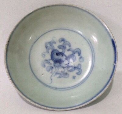 Chinese Early Ming Chenghua 15th Century With Floral Motif Small Dish