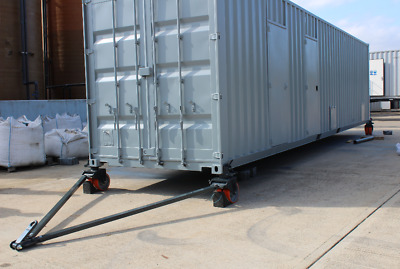 Shipping Containers Castor Wheels -Made In The UK -12 Tonnes Set of 4 wheels