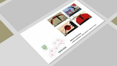 CYPRUS/2020, (FDC) Olympic Games TOKYO 2020, MNH
