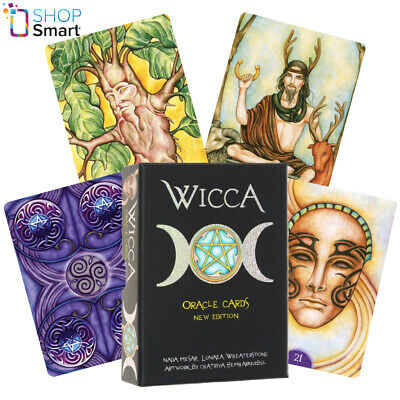 Wiccan Oracle Cards Deck Esoteric Telling Lo Scarabeo New