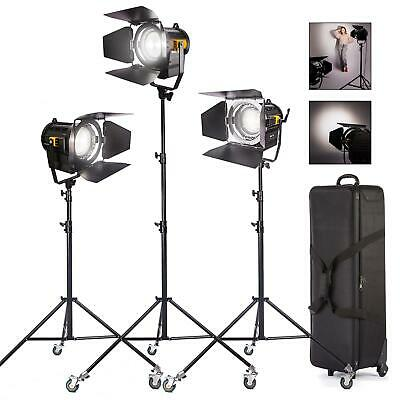 LED Fresnel 50-70W Spotlight Dimmable Professional Studio Photography Lighting