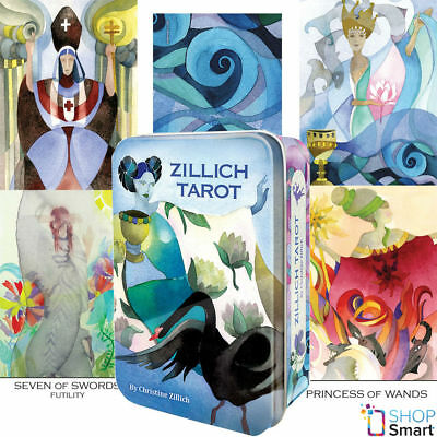 Zillich Tarot Deck Cards Christine Zillich Esoteric Telling Us Games Systems New