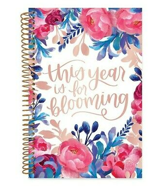 bloom daily planners Aug 2019/ 2020 Calendar Planner Book