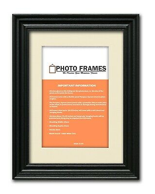 Swept Traditional Ornate Picture Photo Frames Ivory Mounts With Various Frames