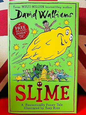 Slime by David Walliams (Hardcover 2020) *NEW* Fantastically Free UK Delivery
