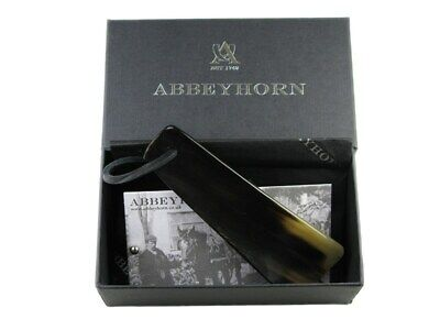 Abbeyhorn Small Travel Shoehorn With Thong
