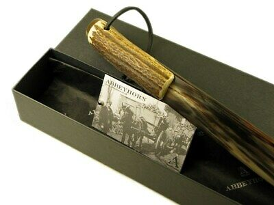 Abbeyhorn Small Stag Antler Handle Horn Shoehorn
