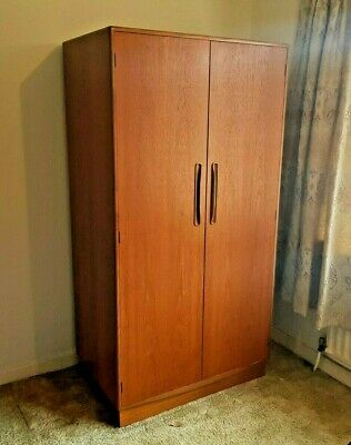 G Plan Wardrobe Vintage Retro Fresco With Draws Gentleman's Furniture