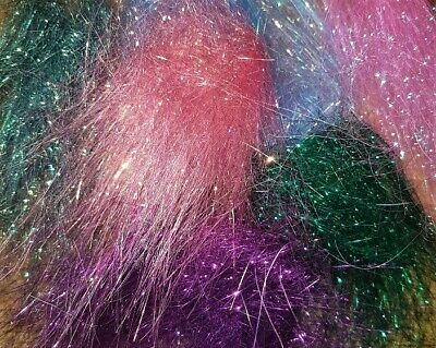 Choose From 26 Colours Angelina Fibre Heat Bondable//Craft//Fly Tying 4x10g