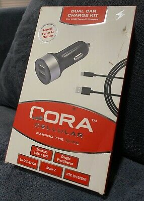 Cora Cellular Dual Car Charge Kit