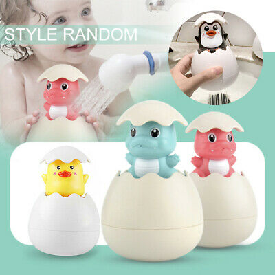 Baby Bathing Toy Penguin Egg Water Spray Bathroom Shower Swimming Water Toys*AU